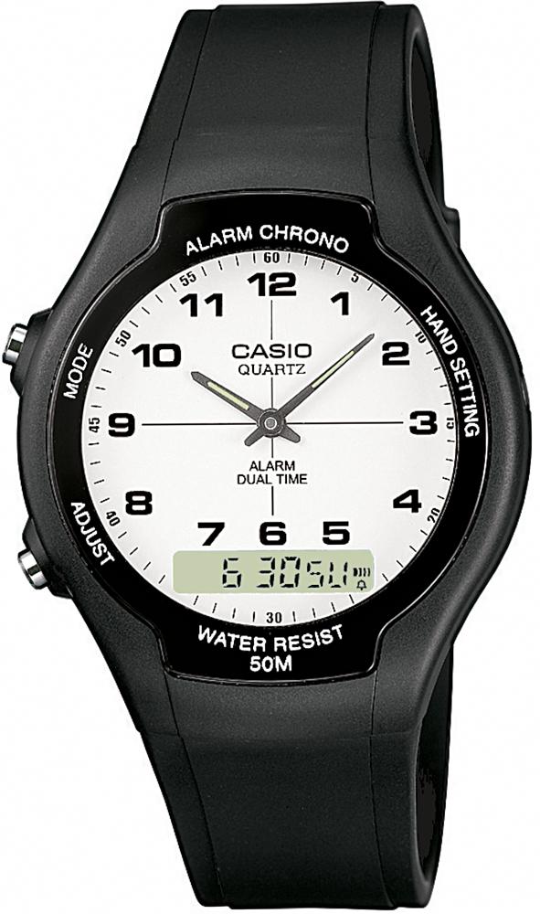 AW-90H-7BVEF - zegarek damski - duże 3