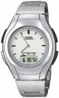 Zegarek męski Casio analogowo - cyfrowe AW-E10D-7EVEF - duże 2