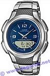 Zegarek męski Casio analogowo - cyfrowe AW-S90D-2AVEF - duże 1