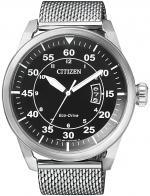 Zegarek męski Citizen ecodrive AW1360-55E - duże 1