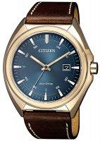 Zegarek męski Citizen ecodrive AW1573-11L - duże 1
