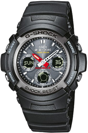 G-Shock AWG-101-1AER G-Shock MC Blacknight