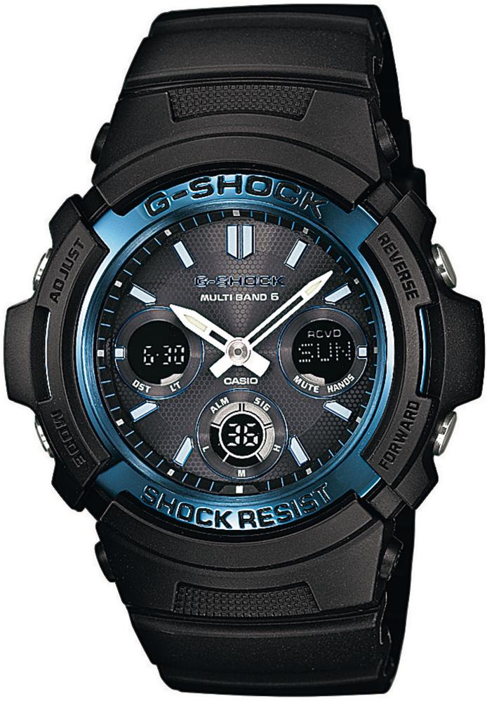 AWG-M100A-1AER - zegarek męski - duże 3