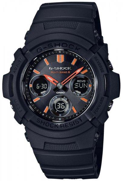 AWG-M100SF-1A4 - zegarek męski - duże 3