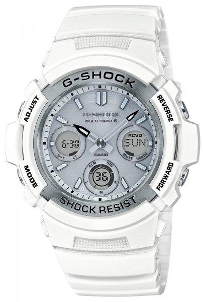 AWG-M100SMW-7AER - zegarek męski - duże 3