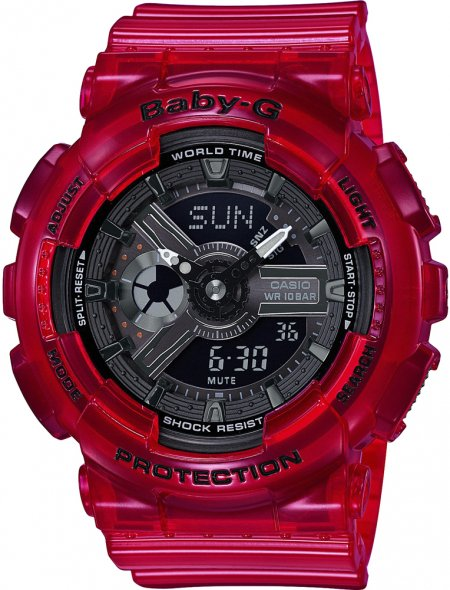 Zegarek Casio Baby-G BA-110CR-4AER - duże 1