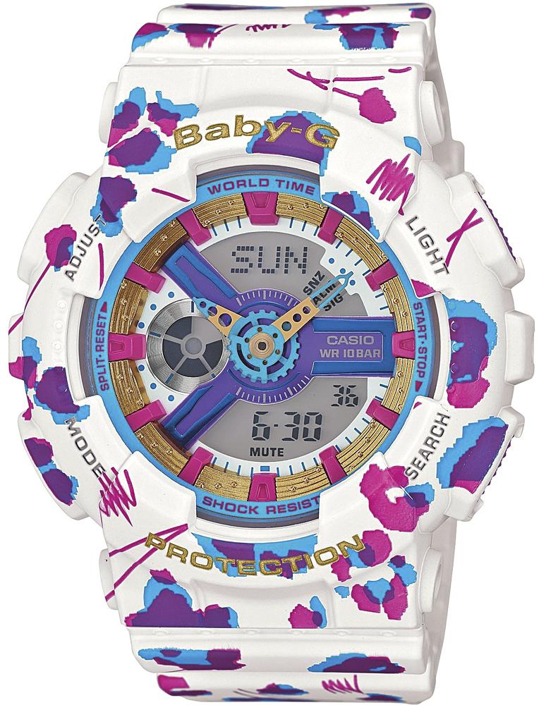 Zegarek Casio Baby-G BA-110FL-7AER - duże 1