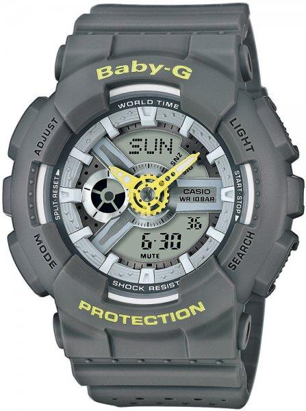 Zegarek Casio Baby-G BA-110PP-8AER - duże 1