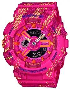 zegarek Mist Texture Scratch Pattern Casio BA-110TX-4AER