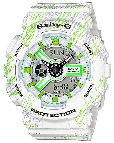 Casio BA-110TX-7AER Baby-G Mist Texture Scratch Pattern