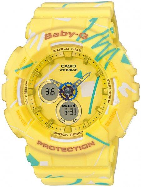 Zegarek Casio Baby-G BA-120SC-9AER - duże 1
