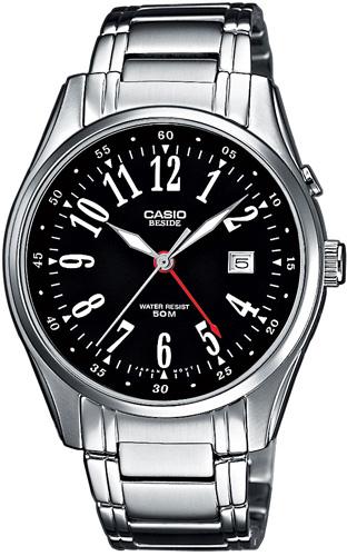 Zegarek męski Casio klasyczne BEM-101D-1AVEF - duże 1