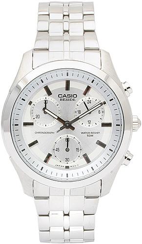 Zegarek męski Casio wyprzedaż BEM-503D-7A - duże 1