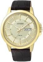 Zegarek męski Citizen leather BF2013-05PE - duże 1