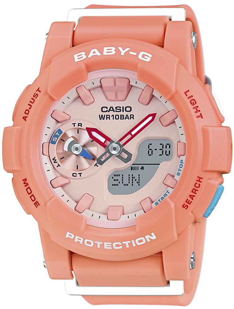 Zegarek Casio Baby-G BGA-185-4AER - duże 1