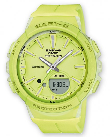 Zegarek Casio Baby-G Step Tracker - damski - duże 3
