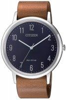 Zegarek męski Citizen ecodrive BJ6501-10L - duże 1