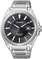 Zegarek męski Citizen titanium BM6930-57E - duże 1