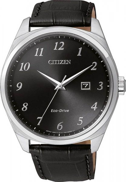 Zegarek męski Citizen ecodrive BM7320-01E - duże 3