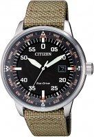 Zegarek męski Citizen ecodrive BM7390-14E - duże 1