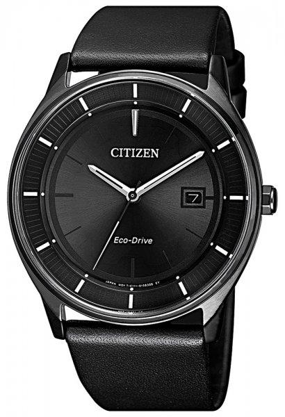 Zegarek męski Citizen ecodrive BM7405-19E - duże 3