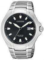 Zegarek męski Citizen titanium BM7430-89E - duże 1