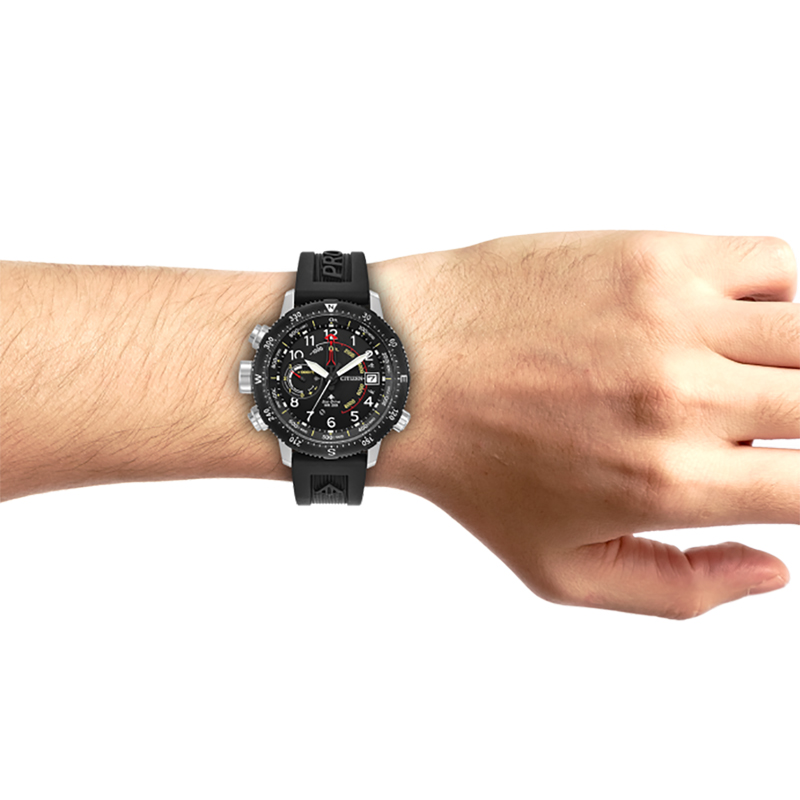 Citizen BN4044-15E PROMASTER ECO-DRIVE SKY ALTICHRON DIVER zegarek ... d0240db72
