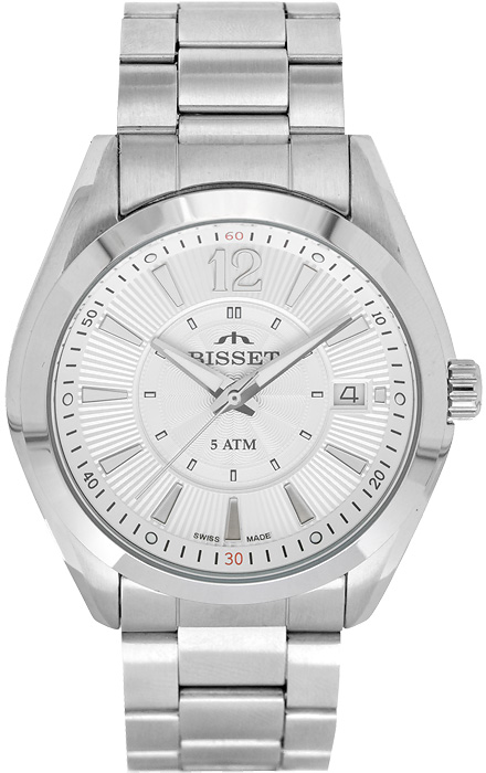 Zegarek męski Bisset klasyczne BS25C45M - duże 1