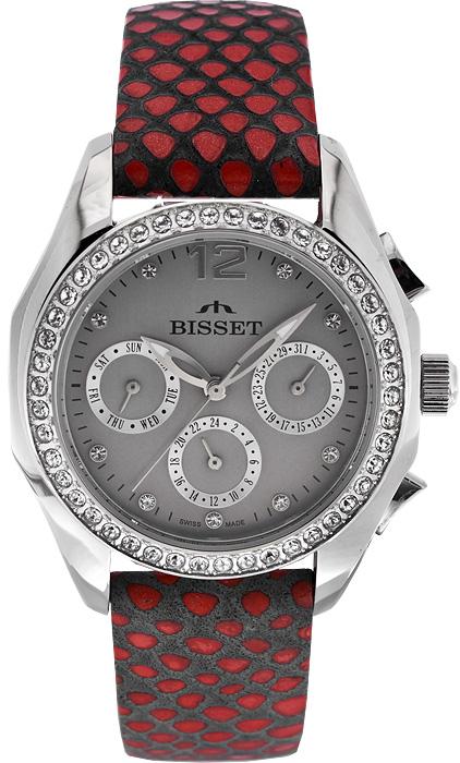 Zegarek damski Bisset wielofunkcyjne BSAD50R - duże 1