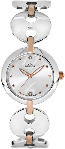 Zegarek damski Bisset biżuteryjne BSBD02 - duże 1