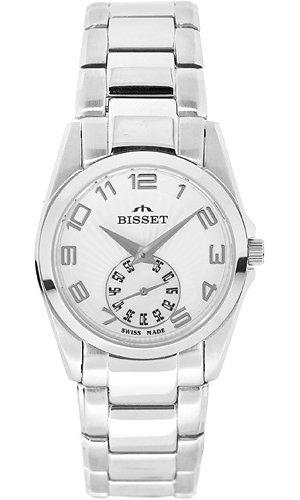Zegarek damski Bisset biżuteryjne BSBD12W - duże 1