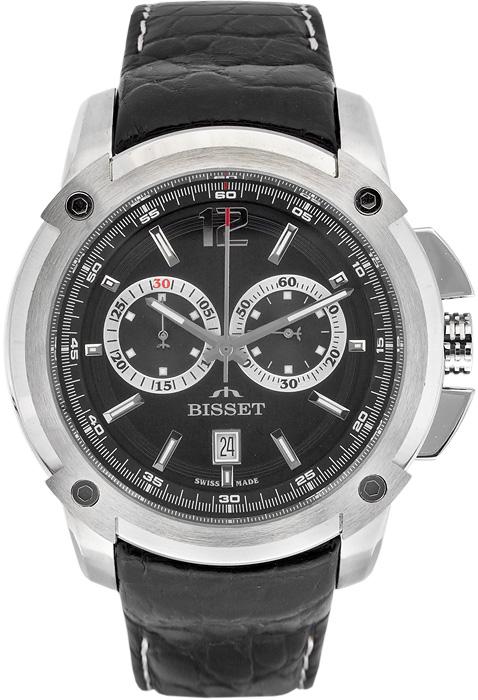Zegarek męski Bisset sportowe BSCC72K - duże 1