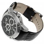 Zegarek męski Bisset sportowe BSCC72K - duże 4