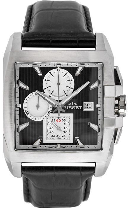 Zegarek męski Bisset wielofunkcyjne BSCC76K - duże 1
