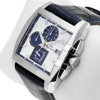 Zegarek męski Bisset wielofunkcyjne BSCC76W - duże 2