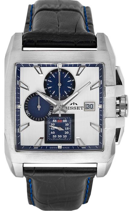 Zegarek męski Bisset wielofunkcyjne BSCC76W - duże 1