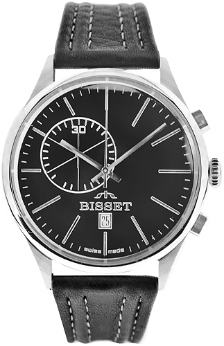 Zegarek męski Bisset klasyczne BSCC78K - duże 1