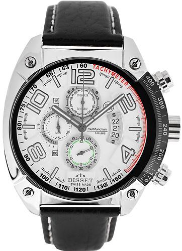 Zegarek męski Bisset wielofunkcyjne BSCC79 - duże 1
