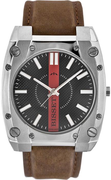 Zegarek męski Bisset nowoczesne BSCC82MR - duże 1