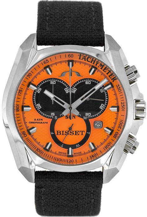 Zegarek męski Bisset sportowe BSCC93 - duże 1