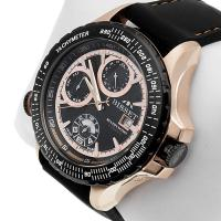 Zegarek męski Bisset wielofunkcyjne BSCD46GK - duże 2