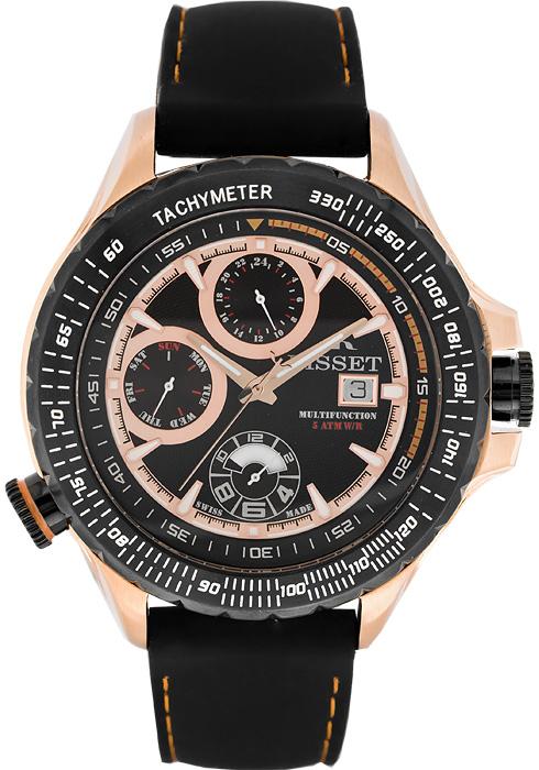 Zegarek męski Bisset wielofunkcyjne BSCD46GK - duże 1