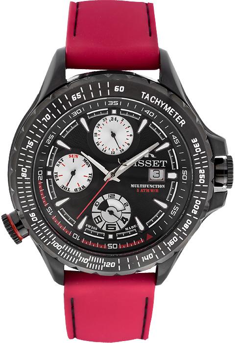 Zegarek męski Bisset wielofunkcyjne BSCD46KR - duże 1