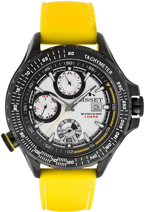 Zegarek męski Bisset wielofunkcyjne BSCD46KY - duże 1