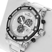 Zegarek męski Bisset sportowe BSDC77S - duże 2