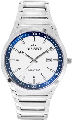Zegarek męski Bisset klasyczne BSDC86B - duże 1