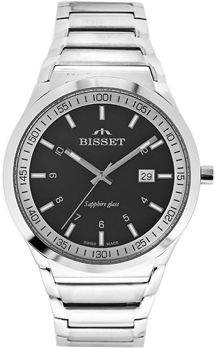 Zegarek męski Bisset klasyczne BSDC86K - duże 1