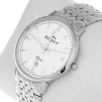 Zegarek męski Bisset klasyczne BSDC89W - duże 2