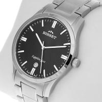 Zegarek męski Bisset klasyczne BSDD17K - duże 2