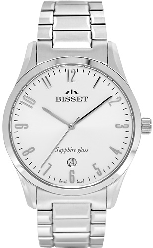 Zegarek Bisset BSDD17W - duże 1